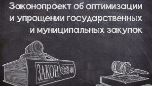 Законопроект об упрощении №44-ФЗ