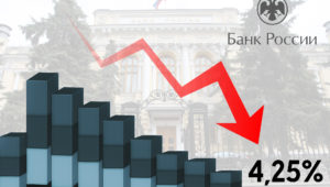 Очередное снижение ключевой ставки